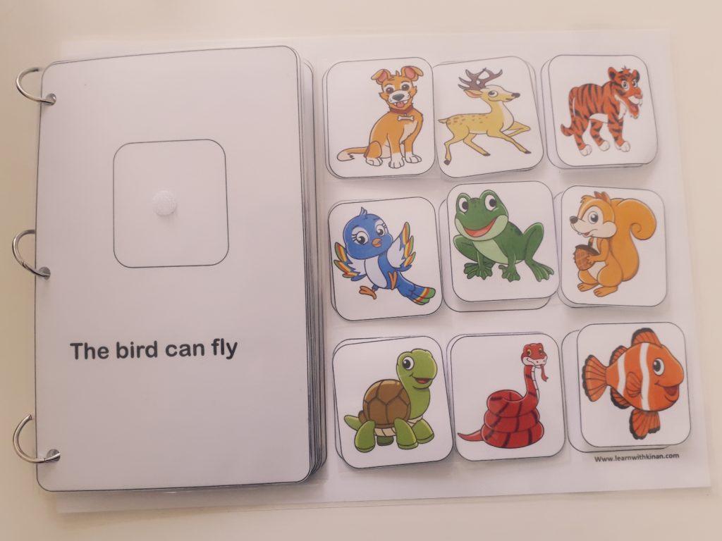 كتاب تفاعلي تعليم الأطفال اللغة الإنجليزية